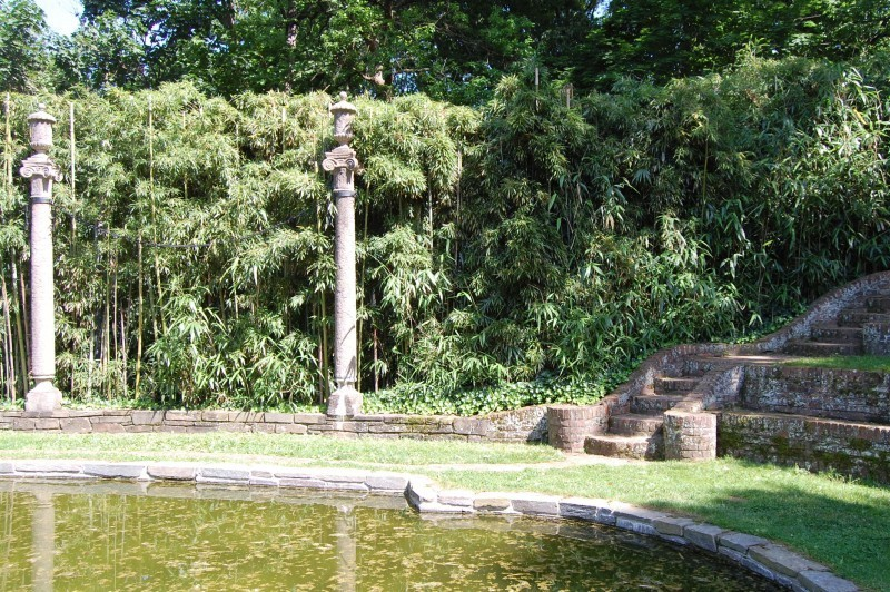 The gardens of dumbarton oaks for Garden oaks pool