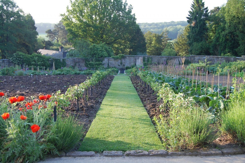 Superior Robinson Wrote, U201cCommenced To Build In Early Summer A Stone Wall Round New Kitchen  Garden, Chosen After Much And Long Thought As To The Site.