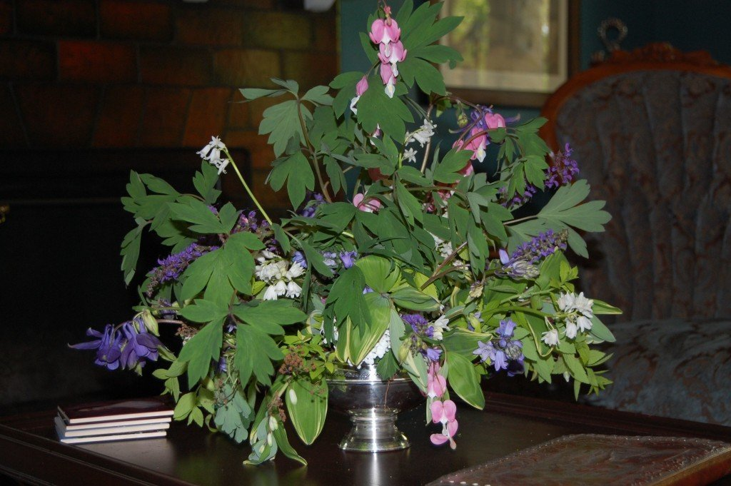 bleeding heart arrangement